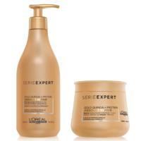 Pack Loreal Absolut Repair Shampoo 500ml y Máscara 250ml