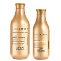 Pack Reparador Absolut Lipidium Shampoo y Acondicionador Loreal