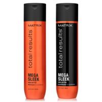 Pack Lacios Mega Sleek Shampoo y Acondicionador 300ml Matrix