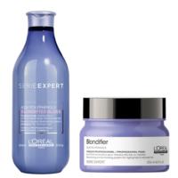 Pack Blondifier Shampoo Gloss 300ml y Máscara 250ml