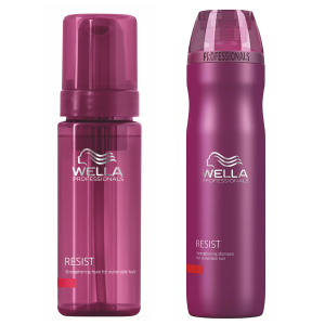 Wella Resist Fortalecedor Shampoo 250ml Y Espuma 150ml