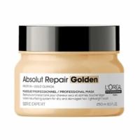 Máscara Absolut Repair Gold Cabello Fino Loreal Reparadora 250ml