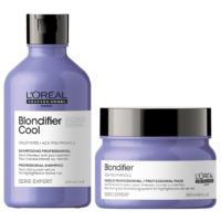 Pack Blondifier Shampoo Cool 300ml y Máscara 250ml