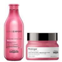 Pack Pro Longer Shampoo 300ml Y Máscara 250ml Loreal