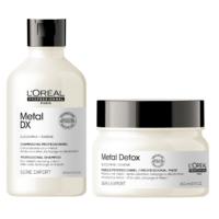 Pack Metal Detox Shampoo 300ml y Máscara 250ml Loreal